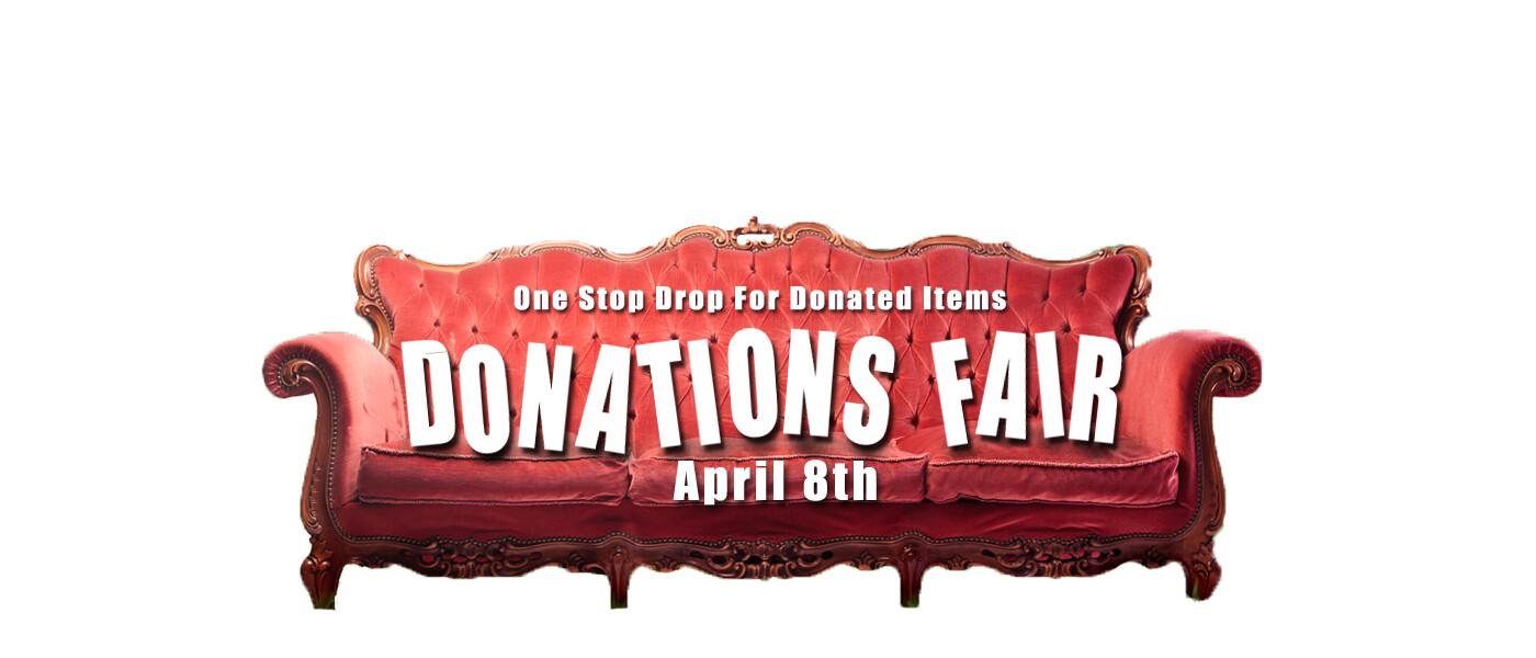 Donations Fair